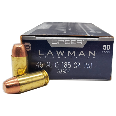 45 Auto - Speer Law Man 185 Grain TMJ