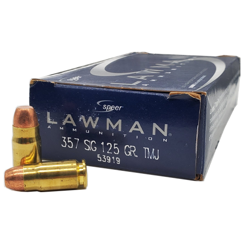 357 Sig - Speer Lawman 125 Grain Total Metal Jacket