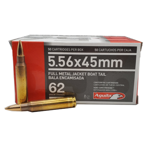 5.56 Nato - Aguila 62 Grain Full Metal Jacket