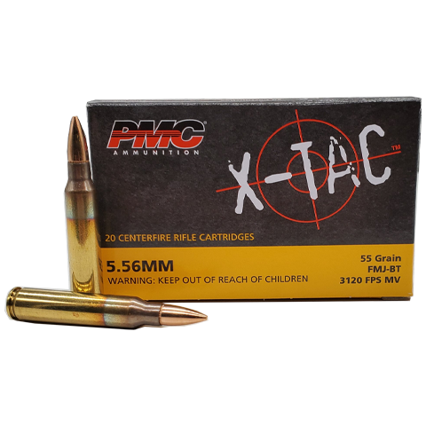 5.56 Nato - PMC X-Tac 55 Grain Full Metal Jacket