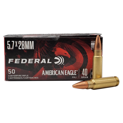 5.7x28 - American Eagle 40 GR. Full Metal Jacket