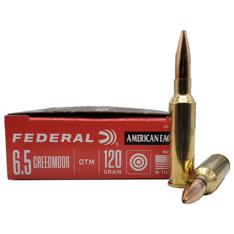 6.5 Creedmoor - American Eagle 120 Grain OTM