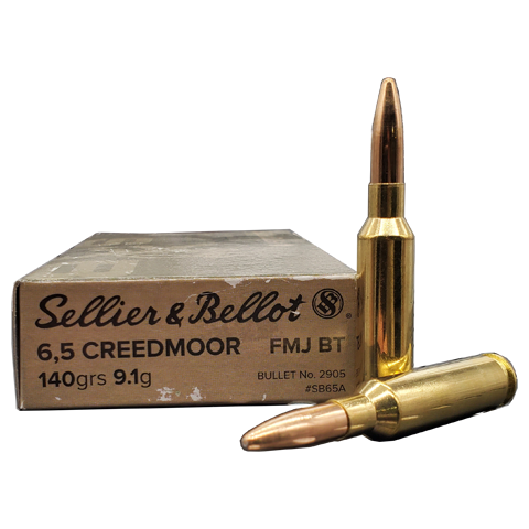 6.5 Creedmoor - Sellier & Bellot 140 Grain FMJ