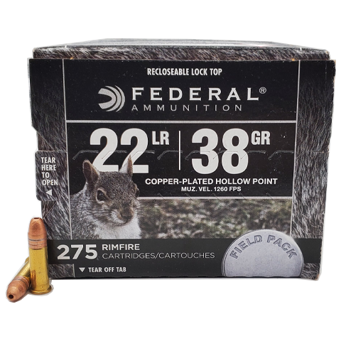 22 Long Rifle - Federal 38 Grain Field Pack