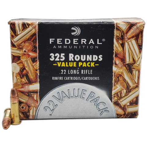 22 Long Rifle - Federal 36 Grain CPHP Value Pack