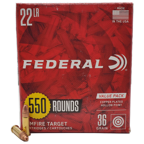 22 Long Rifle - Federal Value Pack 36 Grain CPHP