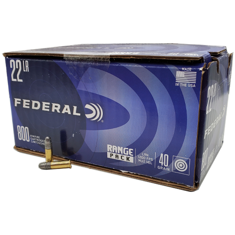22 Long Rifle - Federal Range Pack 40 grain LRN