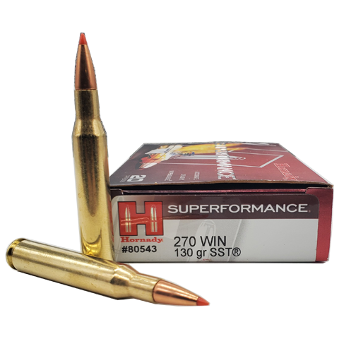 270 Win - Hornady Superperformance 130 Grain SST