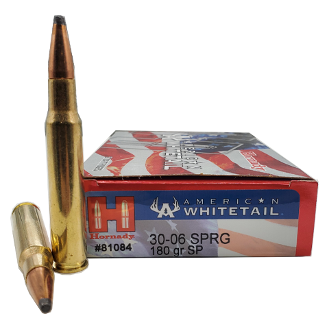 30-06 - Hornady American WhiteTail 180 Grain Soft Point