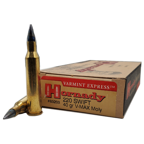220 Swift - Hornady 40 Grain V-Max