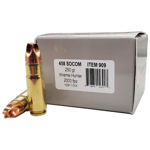 458 SOCOM - Underwood 250 Grain Xtreme Hunter