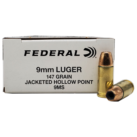 9mm - Federal LE 147 Grain Hi-Shok Sub-Sonic