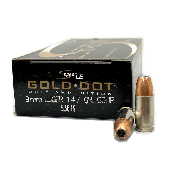 9mm - Speer Gold Dot 147 Grain JHP