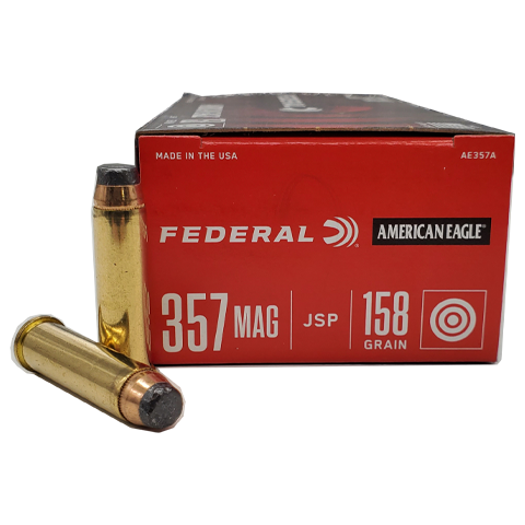 357 Magnum - Federal American Eagle 158 Grain Jacketed Soft Point
