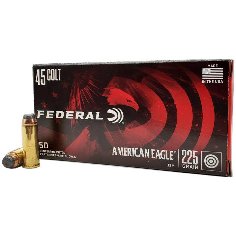 45 Colt - Federal American Eagle 225 Grain JSP