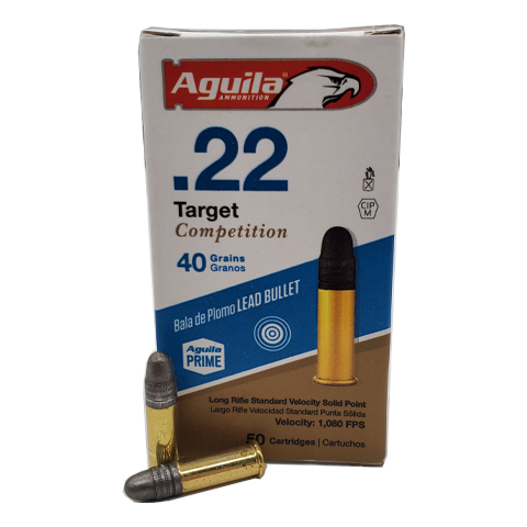 22 Long Rifle - Aguila Target Competiton 40 Grain LRN