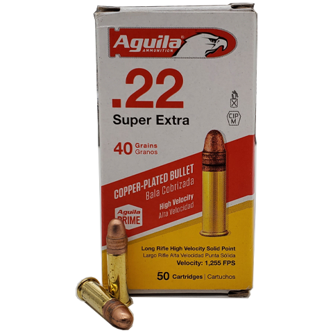 22 Long Rifle - Aguila Super Extra 40 Grain CPRN