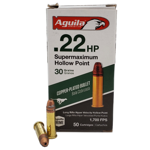 22 Long Rifle - Aguila Super Maximum 30 Grain HP