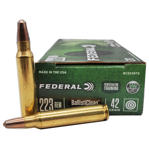 223 Rem - Federal 42 Grain Ballisticlean Frangible