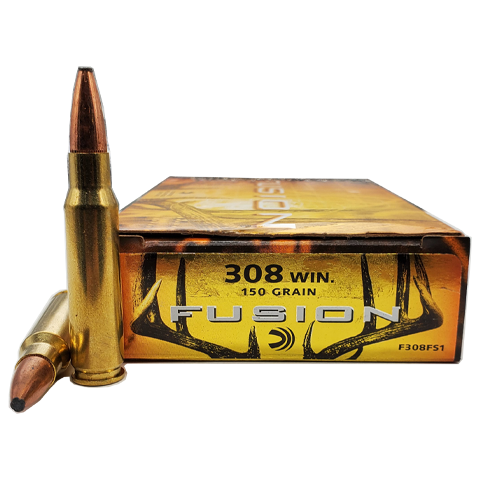 308 Win - Federal Fusion 150 Grain Soft Point