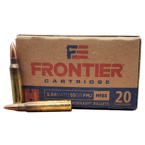 5.56 NATO - Hornady Frontier 55 Grain Full Metal Jacket