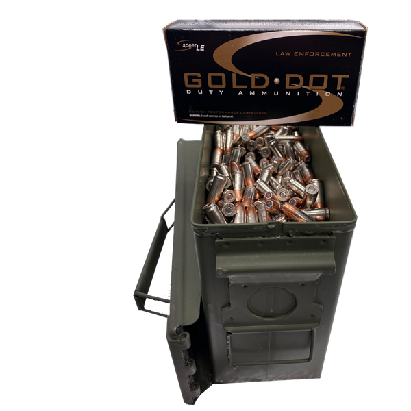 9mm - Speer Gold Dot 124 Gr. +P JHP 500 rd. Can