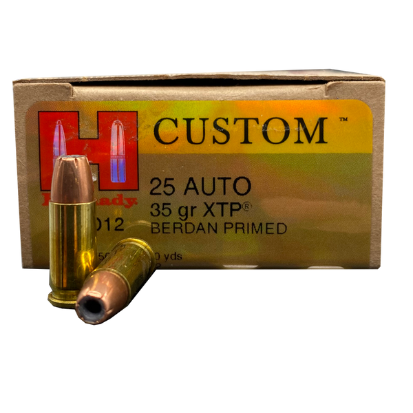 25 Auto - Hornady 35 Grain XTP Jacketed Hollow Point