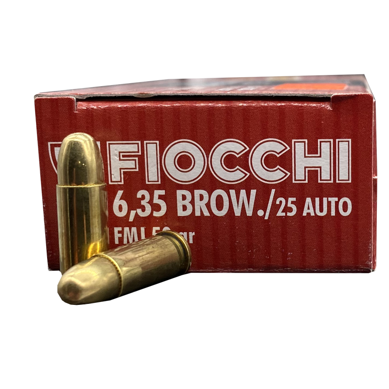 25 Auto - Fiocchi 50 Grain Full Metal Jacket