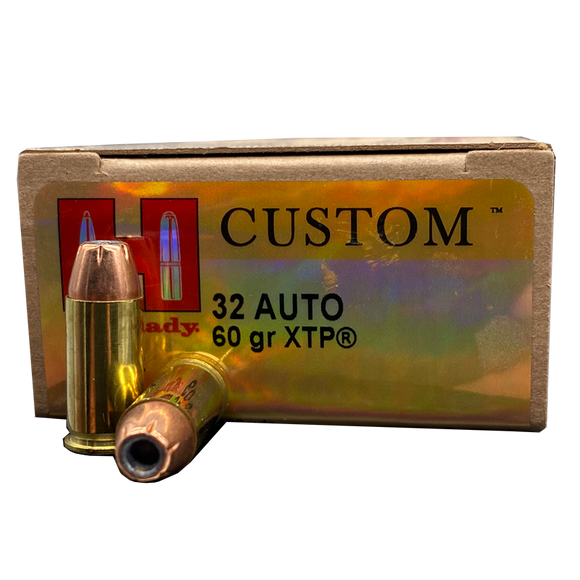 32 Auto - Hornady Critical Defense 60 Grain XTP JHP