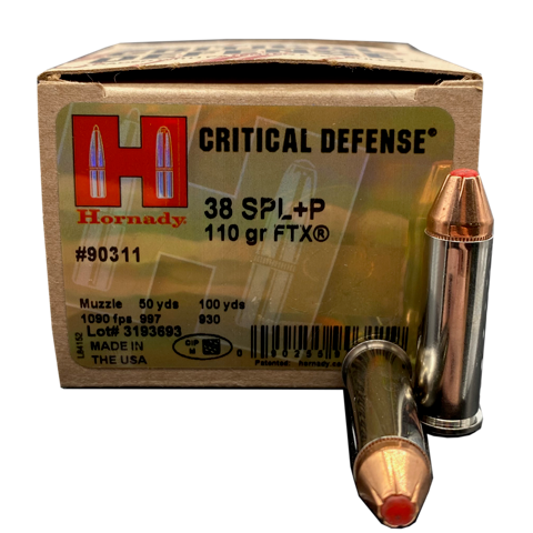 38 Special - Hornady Critical Defense 110 Grain +P