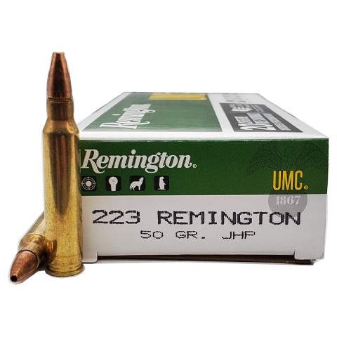 223 Rem - Remington UMC 50 Grain Jacketed Hollow Point