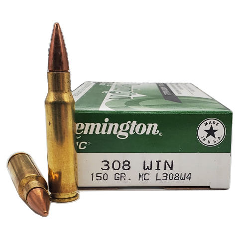 308 Win - Remington 150 grain FMJ