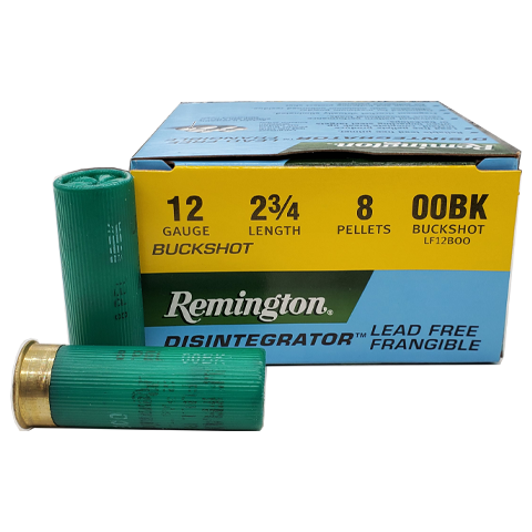 "12 Gauge - Remington LE 2-3/4"" 00 Buck Frangible"