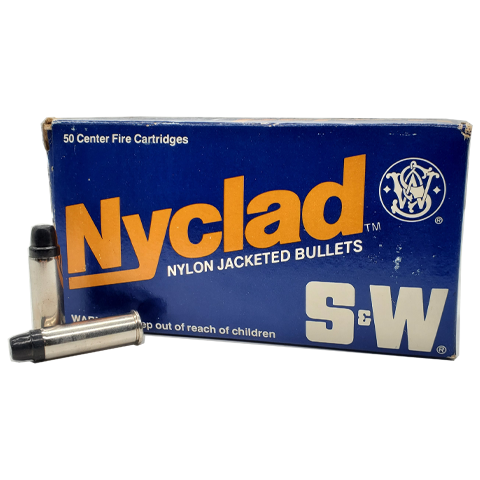 38 Special - Nyclad Smith & Wesson 158 Grain Semi-Wadcutter