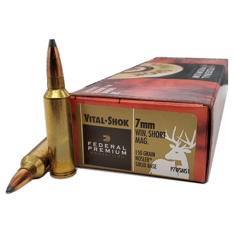 7mm WSM - Federal Vital-Shok 150 Grain Nosler Soft Point