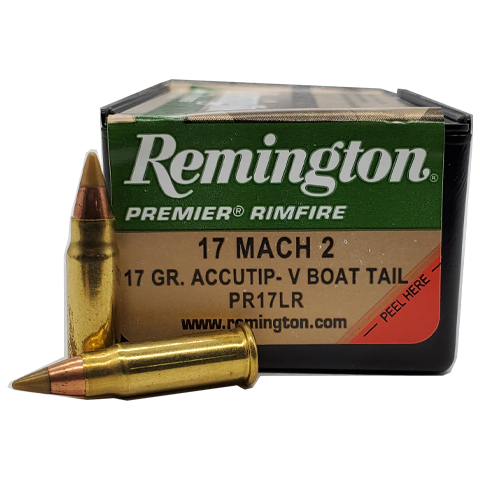 17 Mach 2 - Remington 17 Grain Accutip