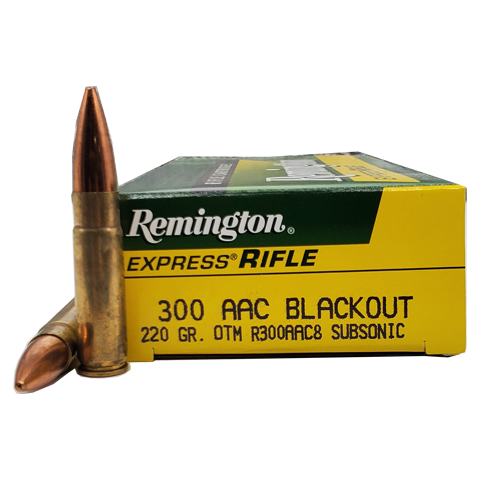 300 Blackout - Remington 220 Grain Subsonic OTM