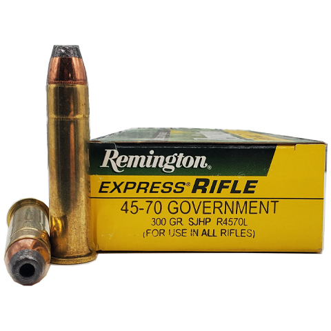 45-70 - Remington 300 Grain Semi-Jacketed Hollow Point