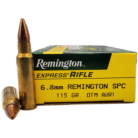 6.8 SPC - Remington Express 115gr OTM