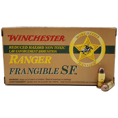 40 S&W - Winchester Ranger 135 Grain Frangible SF Lead Free