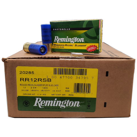 12 Gauge - Remington Managed Recoil 2-3/4