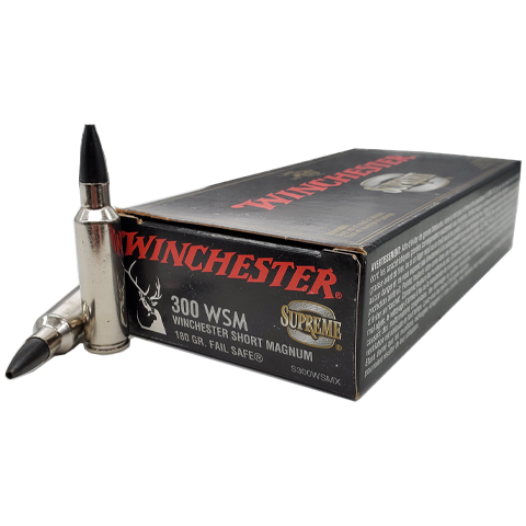 300 WSM - Winchester Supreme 180 Grain Failsafe HP