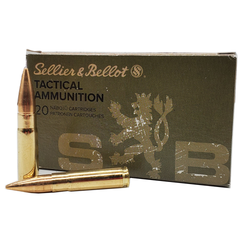 300 Blackout - Sellier & Bellot 124 Grain FMJ