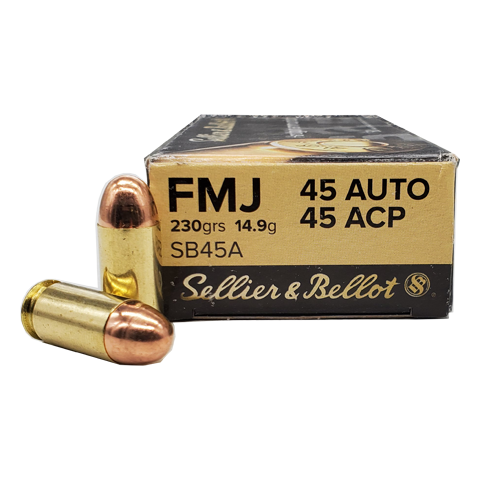 45 Auto  - Sellier & Bellot 230 Grain FMJ