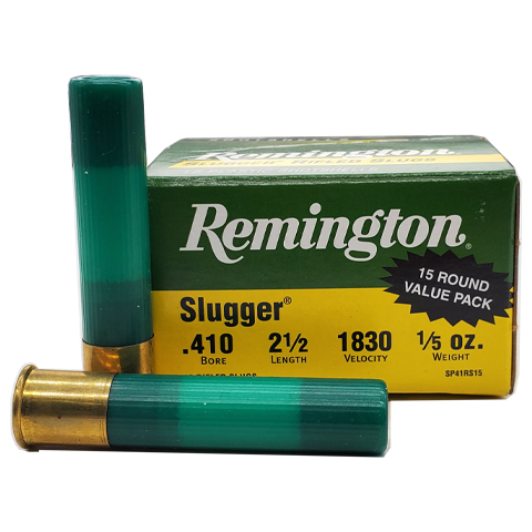 "410 Gauge - Remington Slugger 2-1/2"" Rifled Slug"