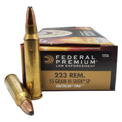 223 Rem - Federal Tactical TRU 55 Grain Hi-Shok Soft Point