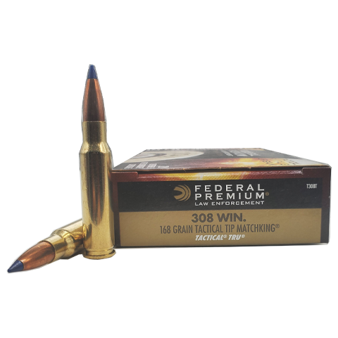 308 Win - Federal 168 Grain TRU Tactical Tip Matchking