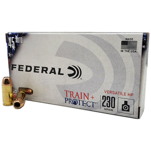 45 Auto - Federal Train + Protect 230 Grain VHP