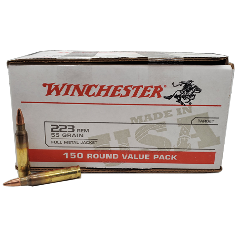 223 Rem - Winchester USA 55 Grain FMJ Value Pack