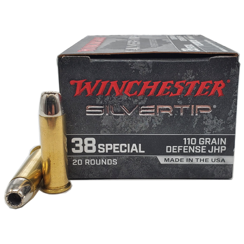 38 Special - Winchester Silvertip Hollow Point